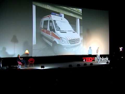Matter of life: Egor Borisov at TEDxBishkek
