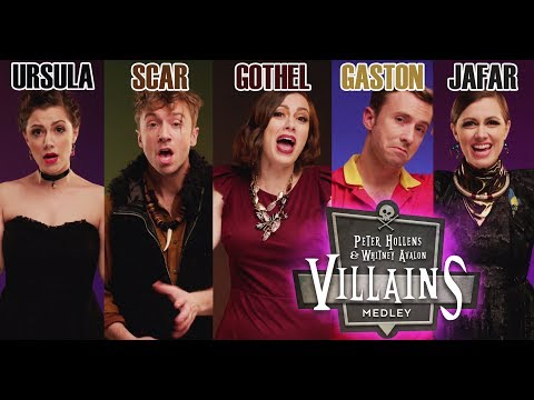 DISNEY VILLAINS MEDLEY (Whitney Avalon & Peter Hollens)