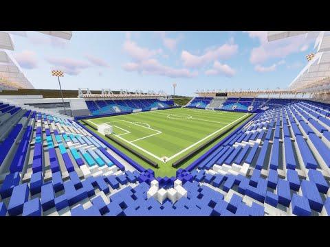 Minecraft Saputo Stadium (Montréal Impact) Timelapse +DOWNLOAD | TheCraftCrusader