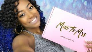 Miss To Mrs Unboxing Month 2 | BRIANA TAHARI
