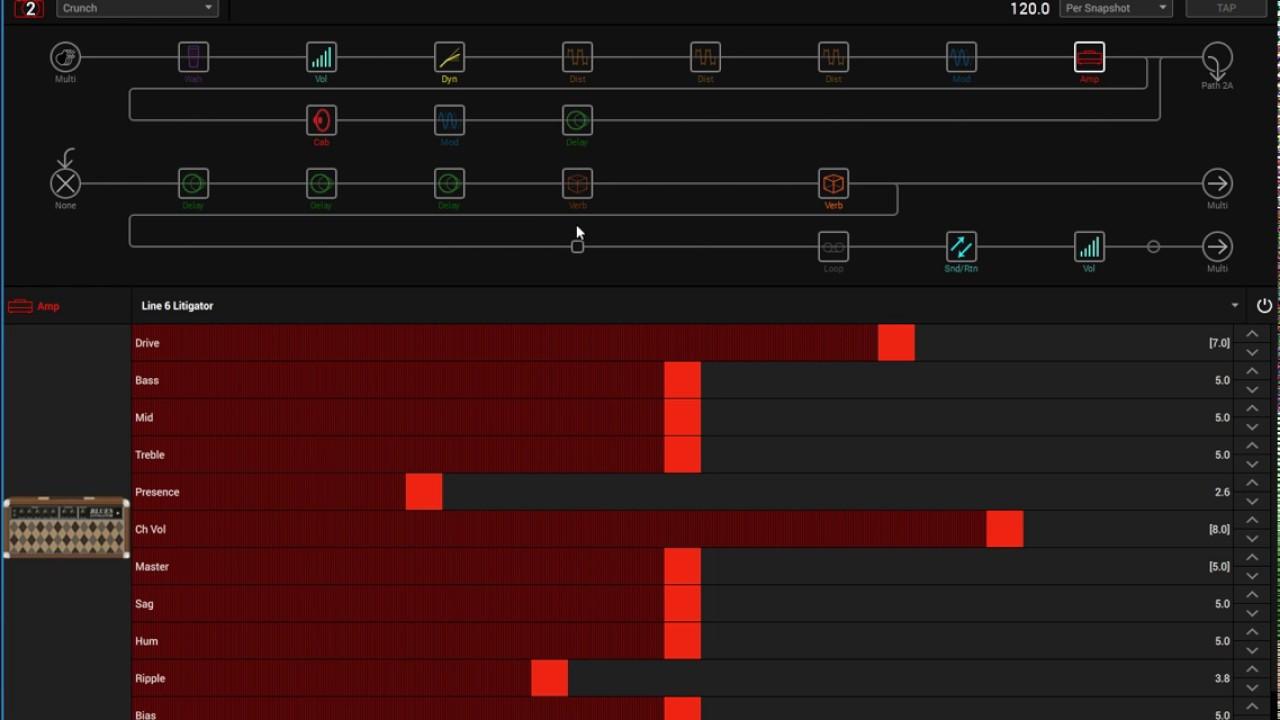 Line 6 Helix Preset Switching Gap vs Snapshots