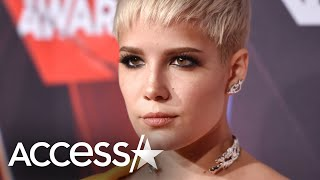 """Halsey is apologizing after she shared a picture that may have been triggering to some of her fans. the singer recently participated in popular """"post p..."""