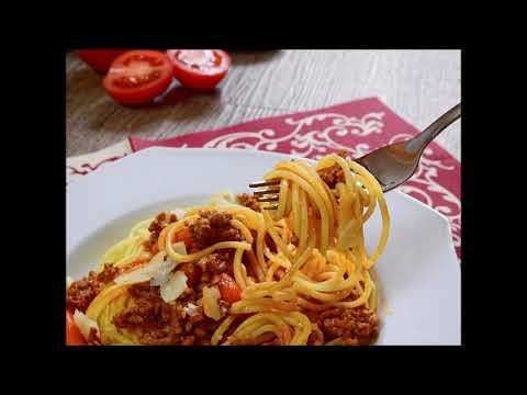 ASMR - odgłosy jedzenia spaghetti, mlaskania
