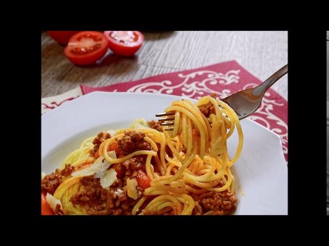 ASMR PL - jedzenie spaghetti, mlaskanie, eating spaghetti, relaks, munching