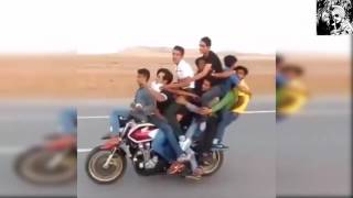 CRAZY 12 People Riding On a Single Motorcycle ★ STUNT Video HD