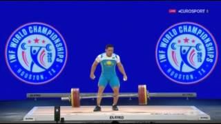 Тяжелая атлетика. Чемпионат Мира 2015 г. Мужчины до 85 кг.