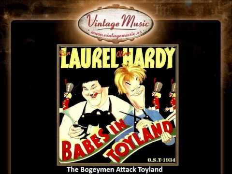 The Bogeymen Attack Toyland - Babes In Toyland  (O.S.T - 1934) (VintageMusic.es)