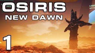 [1] GIANT SPACE WORMS! (Osiris New Dawn Multiplayer)