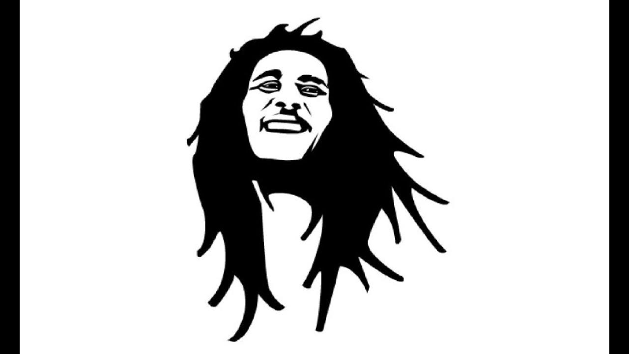 Pencil Drawing II Bob Marley II Timelapse By Your Teacher Guy