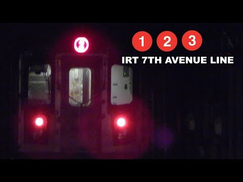 「IRT」 Seventh Avenue Line Action