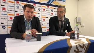 AIK Play: Presskonferens efter IFK Norrköping-AIK 2018-09-16