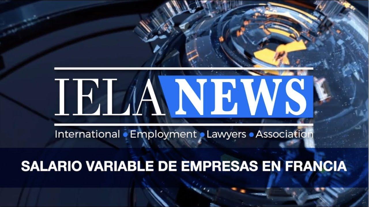 El salario variable de empresas en Francia