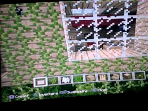 vid o minecraft maison dans les arbres sur ps3 en francais youtube. Black Bedroom Furniture Sets. Home Design Ideas