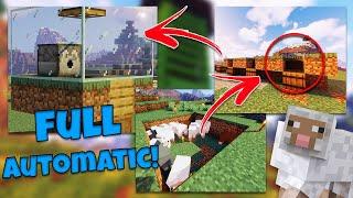 """Minecraft #455 - """"Automatyczna farma wełny!"""""""