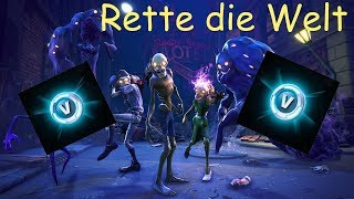 Fortnite - Save the World - Défi - Keep the Gate and Mission Fulfilled - V-Bucks