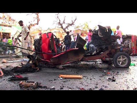 AFP: Somalie: au moins 14 morts dans l'explosion d'une voiture piégée