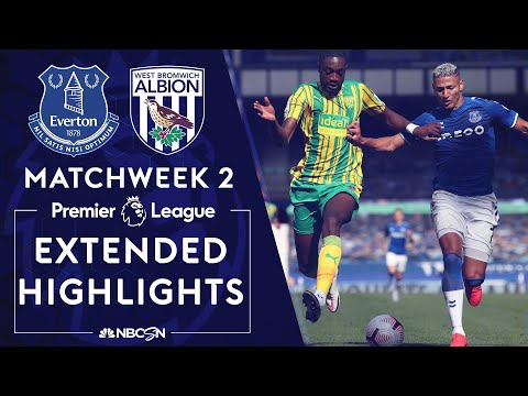 Everton v. West Brom | PREMIER LEAGUE HIGHLIGHTS | 9/19/2020 | NBC Sports