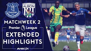 Everton v. West Brom | PREMIER LEAGUE HIGHLIGHTS | 9/19/2020 | NBC Sports