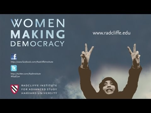 Welcoming Remarks and Keynote Address || Women Making Democracy || Radcliffe