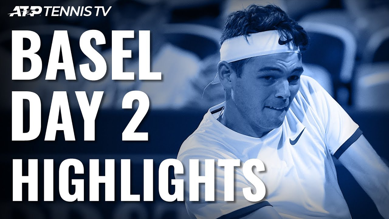 Fritz Shocks Zverev; Tsitsipas Wins, Fognini Stays In Race To London  | Basel 2019 Highlights Day 2