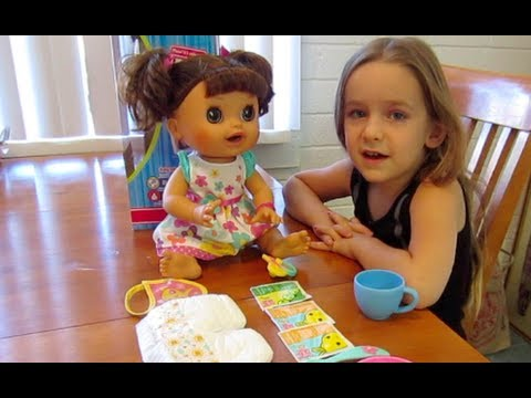 5631398b082b Baby Alive Real Surprises Baby DEMO - YouTube