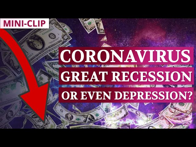 Are We Heading Towards Another Great Recession, or Even Great Depression?