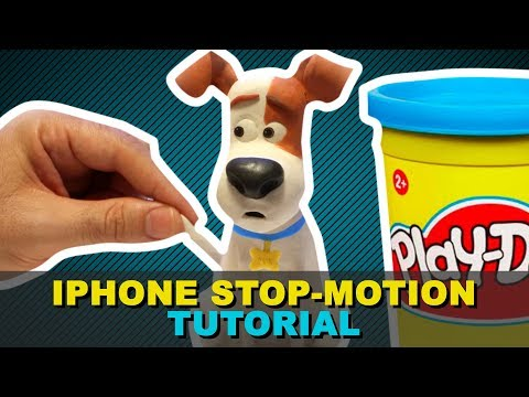 how to make stop motion on iphone