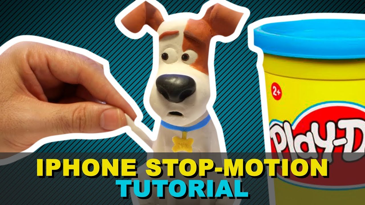 how to make stop motion animation on iphone