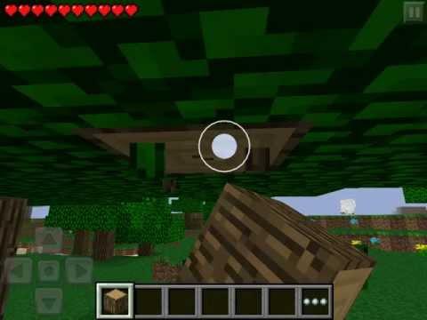 Обзор игры Minecraft PE на Ipad
