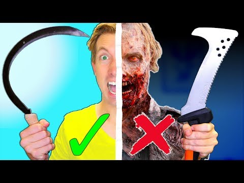 Download Youtube: IF ZOMBIES ARE REAL, USE THESE...