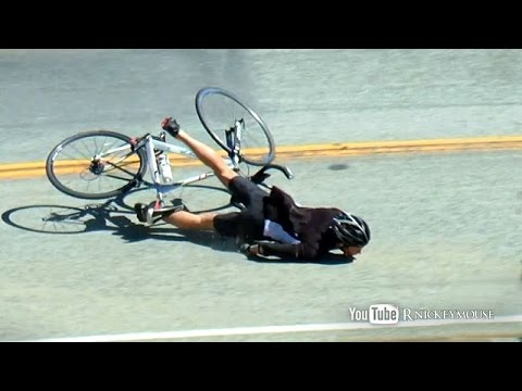 30 mph Bicycle Lowside Crash