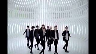 K pop boyband feat J pop girlband.