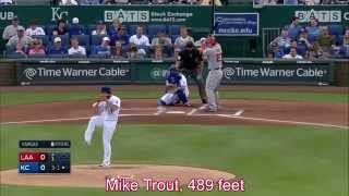 20 Longest Home Runs of 2014