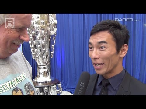 RACER: Takuma Sato's Borg Warner Unveiling