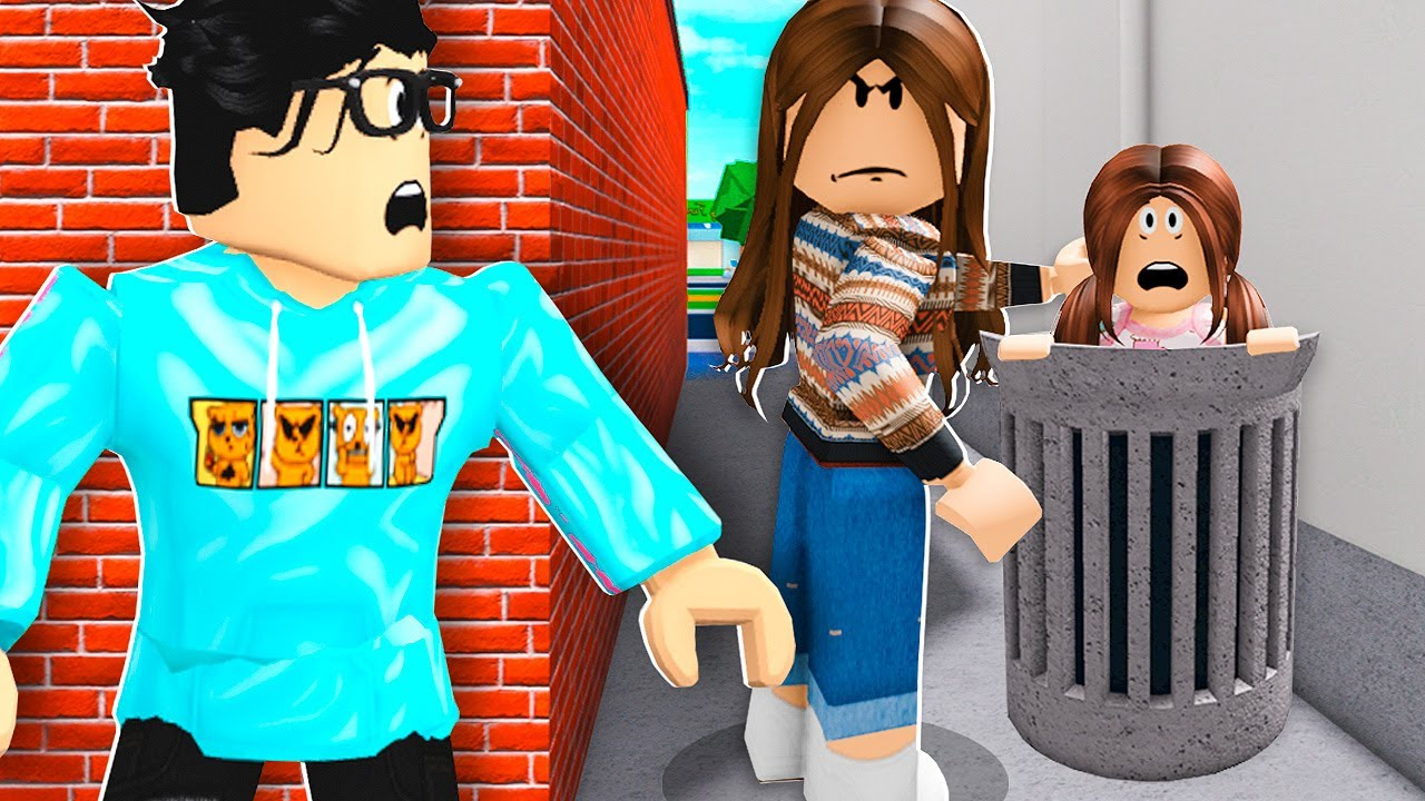 MOM Hated Her Child So She ABANDONED Her! (Roblox Bloxburg)
