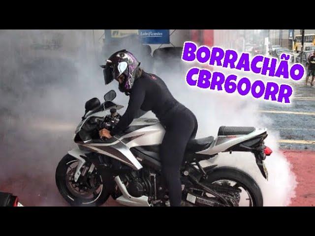 FIZ UM BURNOUT COM A MOTO NOVA - Thays Rx