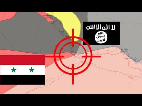 Batalla final contra Isis   Reporte de la guerra siria 15/11/2017