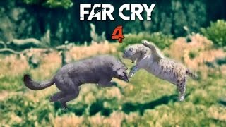 Far Cry 4 - More Animals fighting