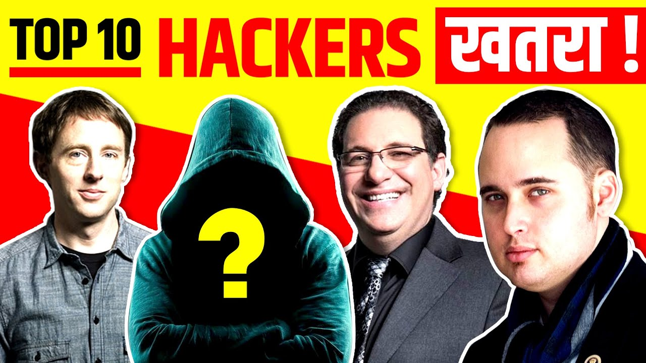 Top 10 Most Dangerous Hackers of All Time | @Live Hindi