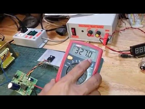 Testing an adjustable 0-30V 3A Laboratory DC Power Supply