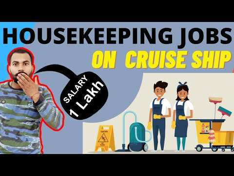 Housekeeping Jobs On Cruise Ship | Just 10th Pass