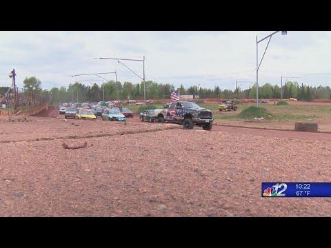 Tomahawk Speedway. - dirt track racing video image