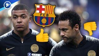 Les supporters du Barça préfèrent Mbappé à Neymar | Revue de presse