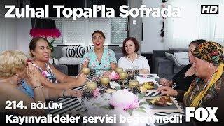Kayınvalideler servisi beğenmedi! Zuhal Topal'la Sofrada 214. Bölüm
