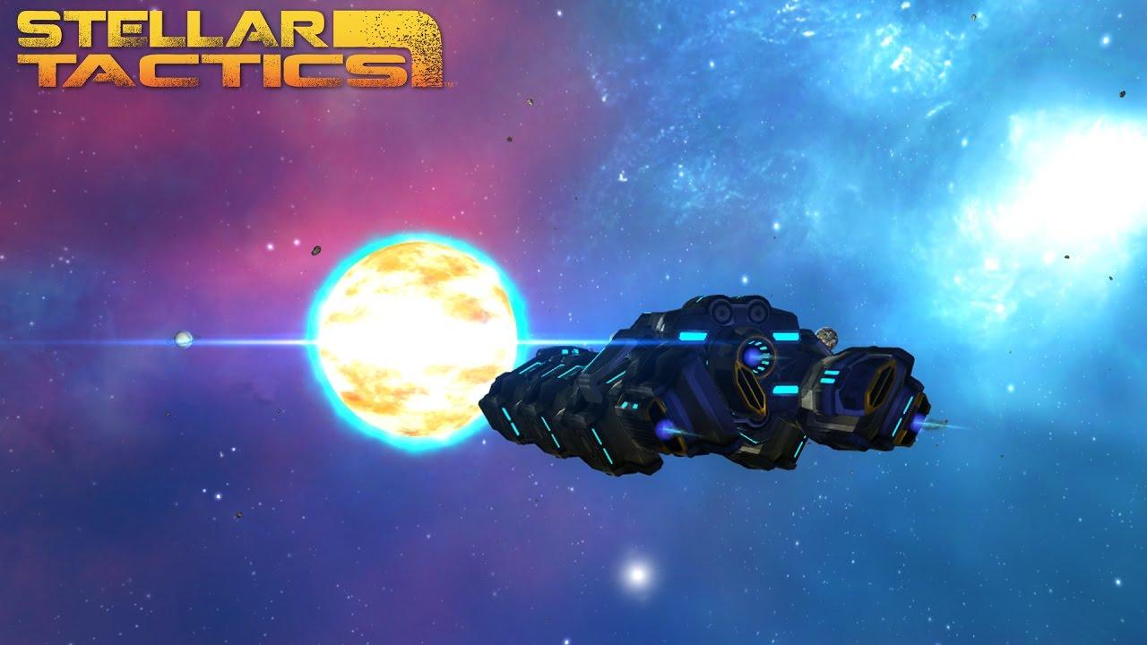 KickStarter - Stellar Tactics, a sandbox sci-fi RPG - now available