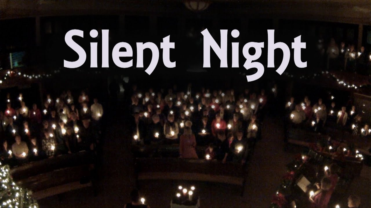 silent night lyrics christmas eve candlelight service piano organ a cappella