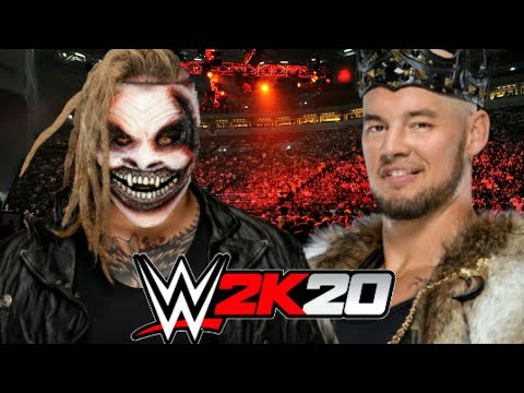 "Download (WWE 2K20)""The Fiend""Bray Wyatt Vs Baron Corbin