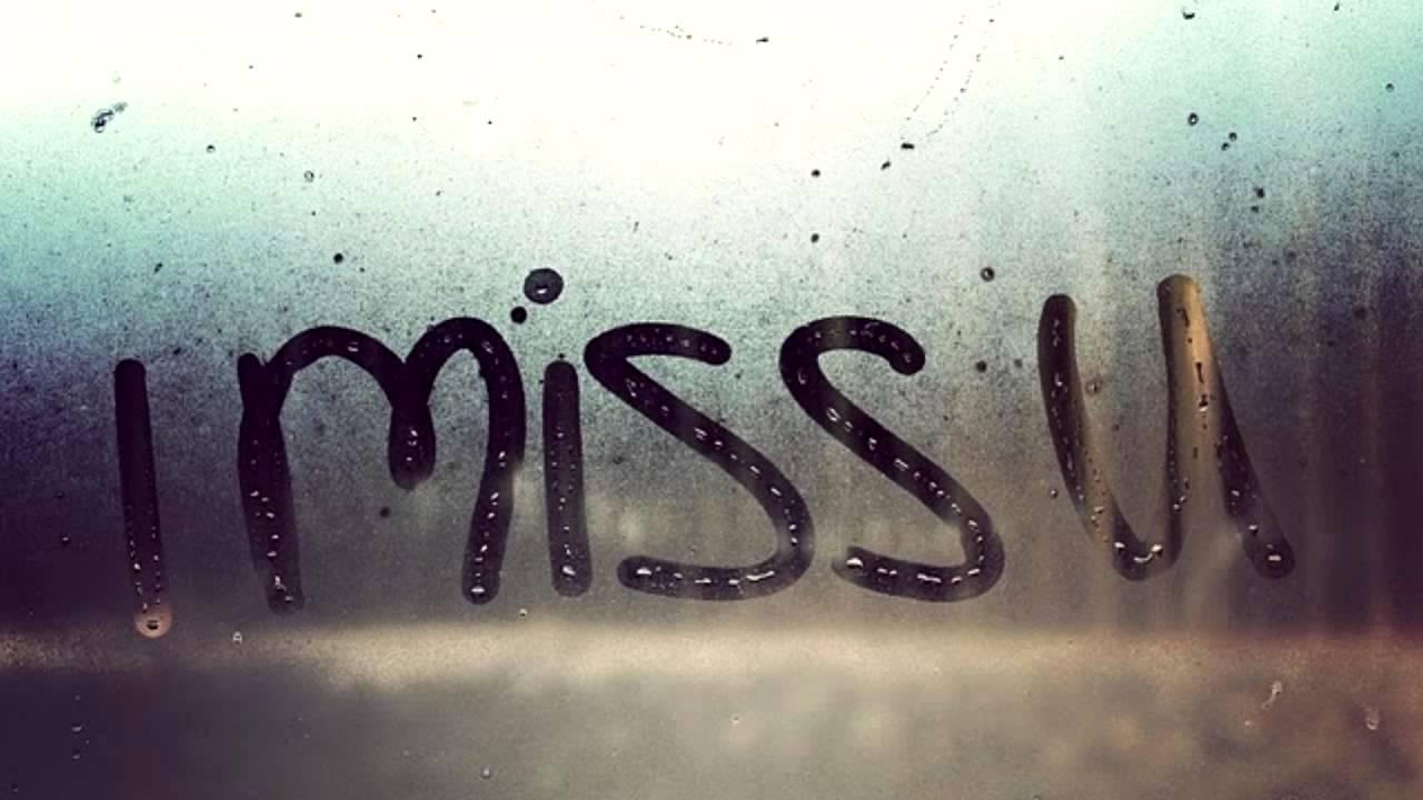 Открытка я скучаю по тебе на английском, для