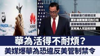 美國要徹查!華為涉嫌違反美國對北韓管制禁令|新唐人亞太電視|20190726
