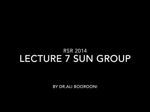 RSR 2014 Lecture 7 Sun Group